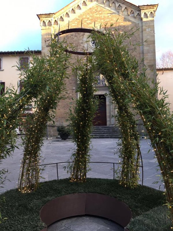Arezzo citt del natale 2016 progettazione e for Progettazione giardini siena